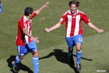 Spirited Paraguay crush Slovakia 2-0