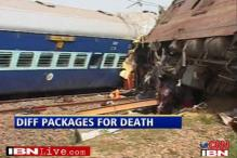 Bias? 72 lakh for air crash; 4 lakh for rail mishap