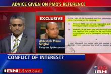 Singhvi defends his help to Dow Chemicals