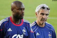 France's Gallas refuses to speak to the media