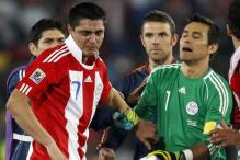 Paraguay's Cardozo inconsolable over penalty miss