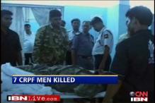 CRPF jawan kills six colleagues, shot dead