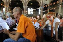 Dutch celebrate second place in WC