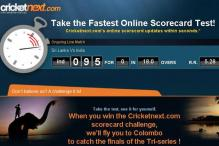 Fastest scorecard can fly you to Colombo