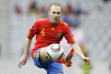 Thought I was offside, admits Spain's Iniesta