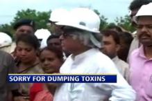 Sorry for dumping toxins near Indore: Jairam