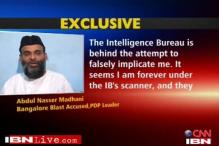 Bangalore blast suspect says IB framing him