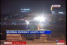 Mumbai airport blind, runway light not working