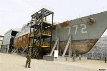 N Korea shrugs off ship, calls for nuclear talks