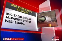 MiG 27 crashes into Bengal village, 1 killed