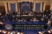 US Senate passes Wall Street Reform Bill