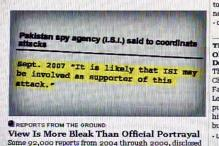 Wikileaks: secret documents link ISI with Taliban