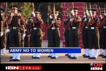 Army not yet ready for women officers