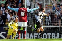 EPL: Carroll nets three as Newcastle rout Villa