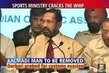 Sports Ministry orders Kalmadi aide's removal