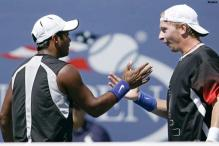 Paes-Dlouhy crash out of Cincinnati Masters