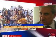 Pak accepts Indian $ 5 mn aid offer