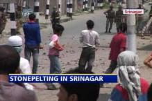 Stone-pelters attack again, violence in Srinagar