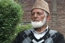 'Indian forces' have to leave Kashmir: Geelani