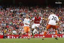 EPL: Gunners shoot down Blackpool 6-0