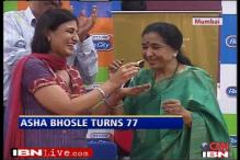 Asha Bhosle turns 77