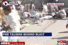 Pak Taliban responsible for Quetta blast