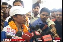 World boxing champ Mary Kom returns home
