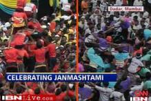 Devotees gear up for 'dahi handi' in Mumbai