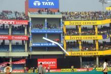 ICC officials inspect Kotla pitch