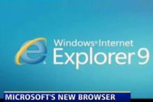 Microsoft launches new Web browser IE9