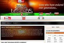 Network 18 to honour 'Indian Sports Legends'