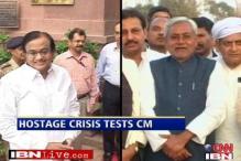 Nitish struggling to solve the hostage crisis