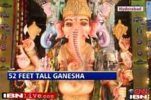 Hyderabad bids goodbye to city's tallest Ganesha