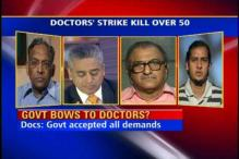 Should doctors be banned from going on strike?