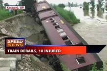 Train derails in Uttar Pradesh, driver critical