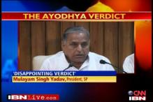 Ayodhya verdict not based on legality: Mulayam