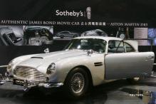 James Bond's Aston Martin car sells for $4.6 mln