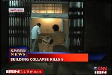 Factory building collapses, six killed