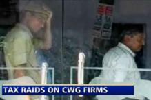 I-T officials raid premises of 4 CWG contractors