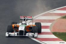 Force India gets 6th position, fine in Korean GP
