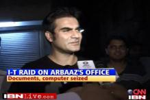 I-T raid at 'Dabangg' producer Arbaaz's office