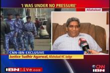 Ayodhya judge says he was under no pressure