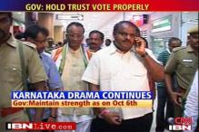 Showdown between Governor, Speaker in K'taka