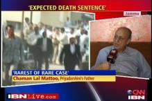 We expected death sentence: Mattoo's father