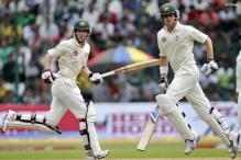 2nd Test: India 128/2, Aus dismissed for 478