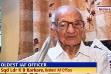 Meet 104-year-old Karkare, longest living IAF officer