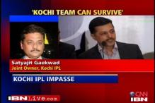 IPL: Kochi team can survive, says joint owner