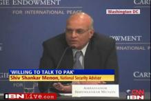 Limits on talks unless Pak stops terrorism: Menon