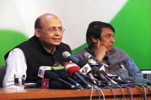Cong derosters Singhvi as party spokesperson