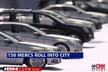 When 150 Mercedes rolled into Aurangabad
